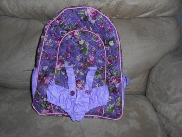Doll Backpack Carrier 15 Seamstobeads