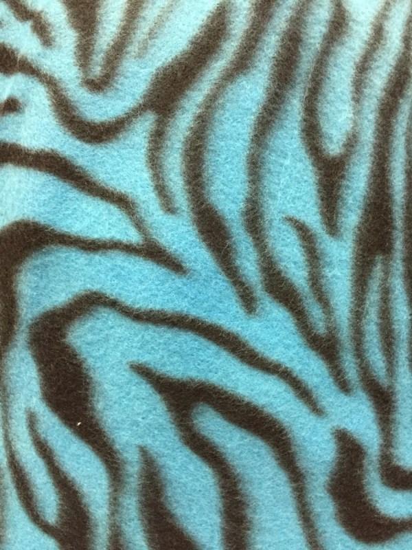 Animal Print Fleece Fabric by the Yard