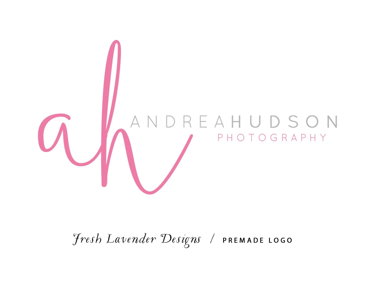 Custom Logo Design Premade Logo For Photographers