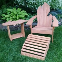 Michigan Adirondack Chair Beach Clearance With Large Size Upper Peninsula Side