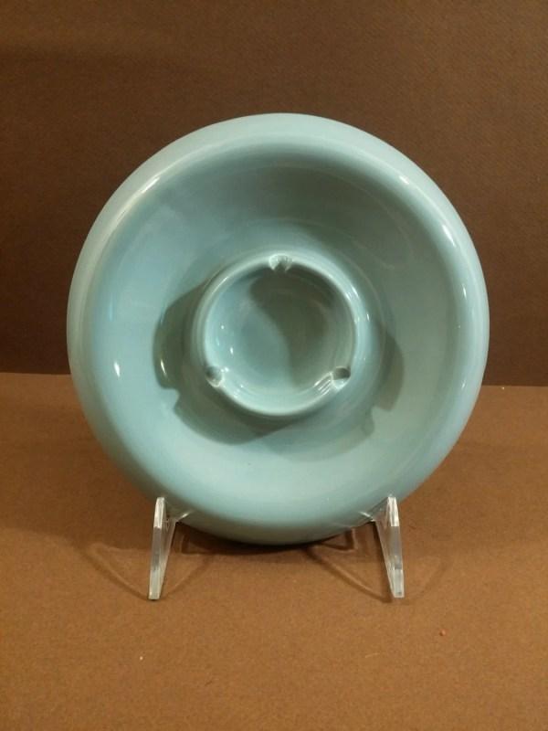 Retro Mod Blue Ceramic Royal Haeger Ashtray. Mid Century