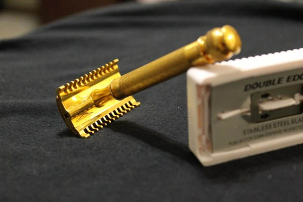 Gold Plated Gillette Safety Razor 1930s
