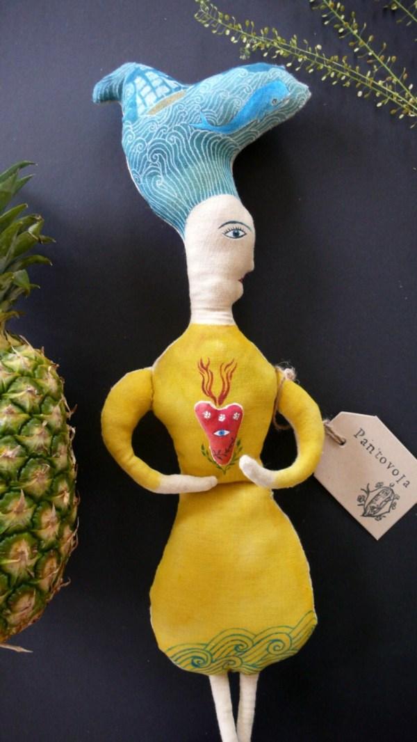 Art Soft Sculpture Doll