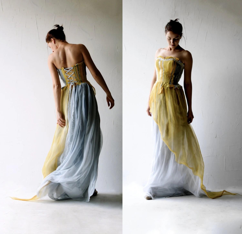Wedding dress Alternative wedding dress Boho wedding dress
