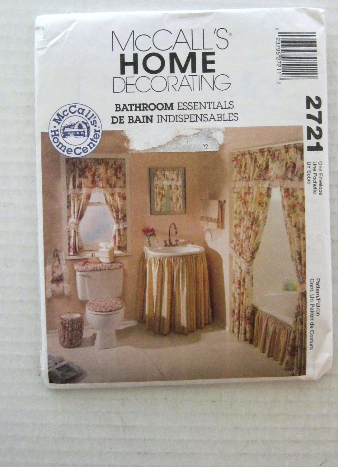 Bathroom Accessories Home Decor Sewing Pattern By Quiltcitysue