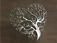 Tree Heart Metal Wall Art Tree Metal Wall Art by INSPIREMEtals