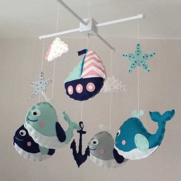 Baby Mobile Crib Nautical