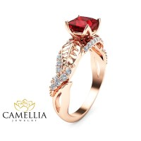 ruby engagement ring ruby promise - Best 28 images ...