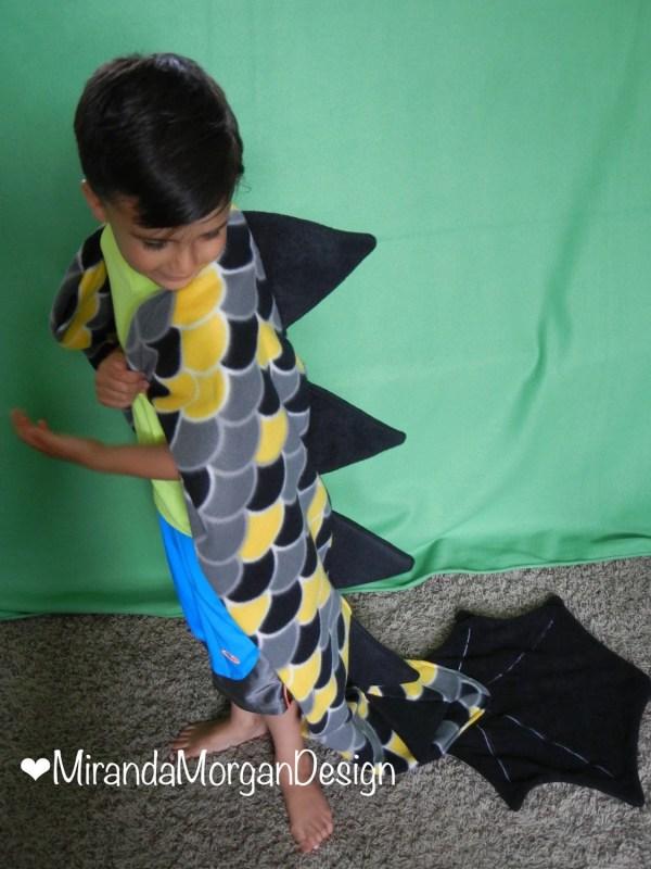 Dragon Tail Blanket Sleeping Bag Style