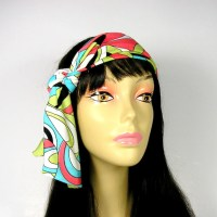 hippie head scarves retro hair scarves boho hair scarves ...