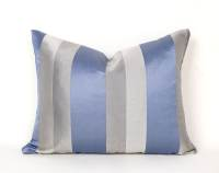 Blue Grey Pillows Blue Pillow Covers Blue Grey Striped
