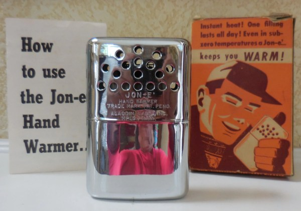 Vintage 1950' Jon Hand Warmer With Instructions