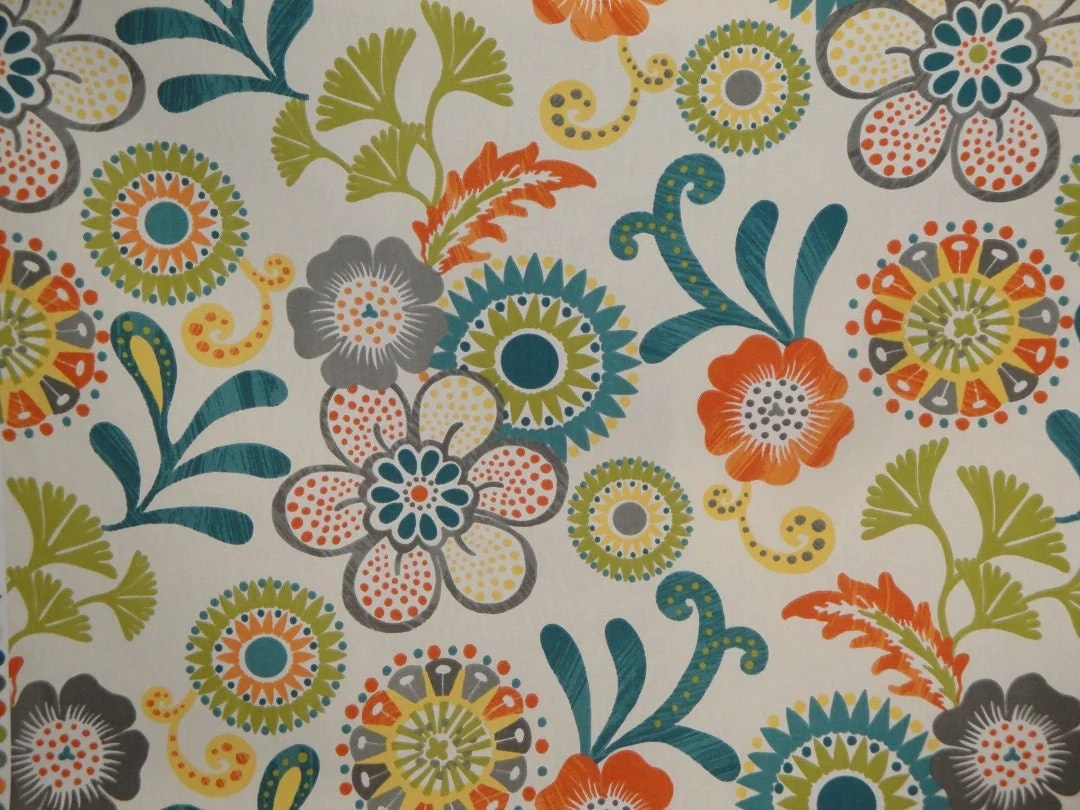 navy blue pet sofa cover big pillows for window valance suzani floral in teal green orange grey