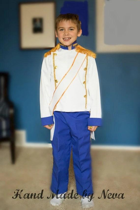 Prince Eric Wedding Costume Toddler Boy Birthday Tuxedo Ring