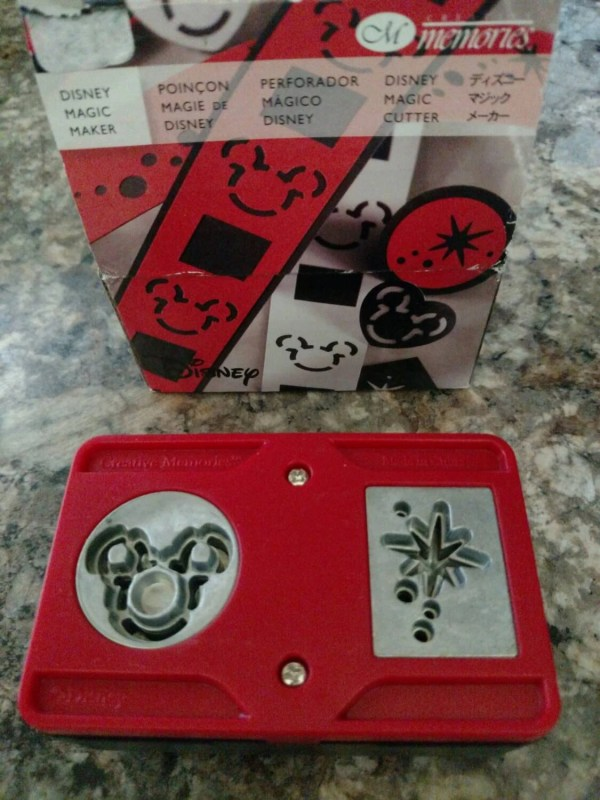Mickey Mouse Walt Disney Paper Punch Creative