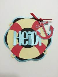 Personalized Life Preserver Cruise Door Decoration by ...