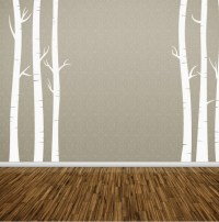 Birch Tree Wall Decal by thedispensery on Etsy
