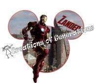 Iron man magnet | Etsy