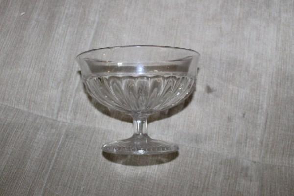Clear Glass Pedestal Bowl Beautiful Design
