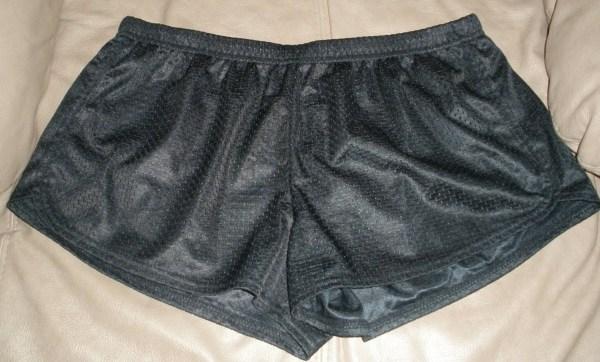 Womens Soffe Black Short Shorts Booty Gym