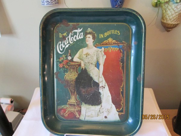 Coca Cola Serving Tray - Year of Clean Water