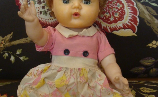 1950 S American Character Tiny Tears Baby By