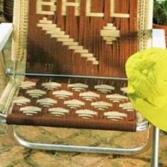 Baseball Folding Tent Chair Precious Planet High Macrame Headboard For Bed Pattern Vintage Fringe
