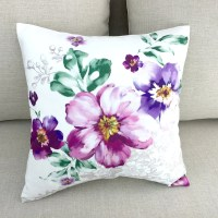 Decorative Throw Pillows Pillow Covers Floral by HomeDecorYi