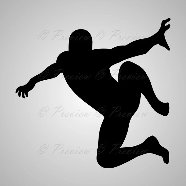 2 1 Free Digital Clipart Silhouettes Spiderman