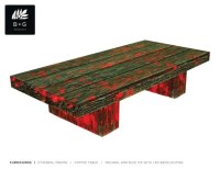 Coffee Table-Etheral Magma LED ECO RESIN table
