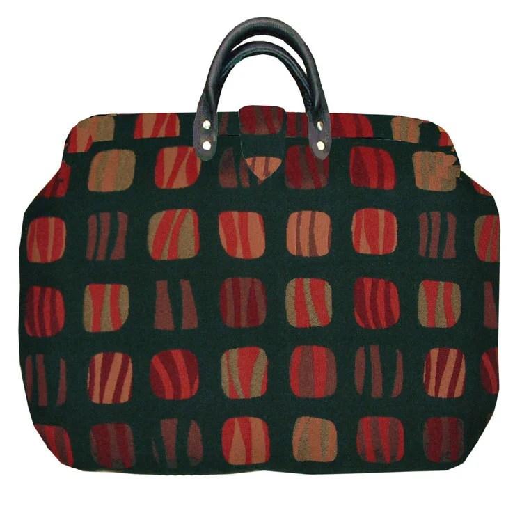 Windows Tapestry Carpet Bag