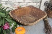 Antique Wooden Dough BowlHome Decor Bread BowlUnique