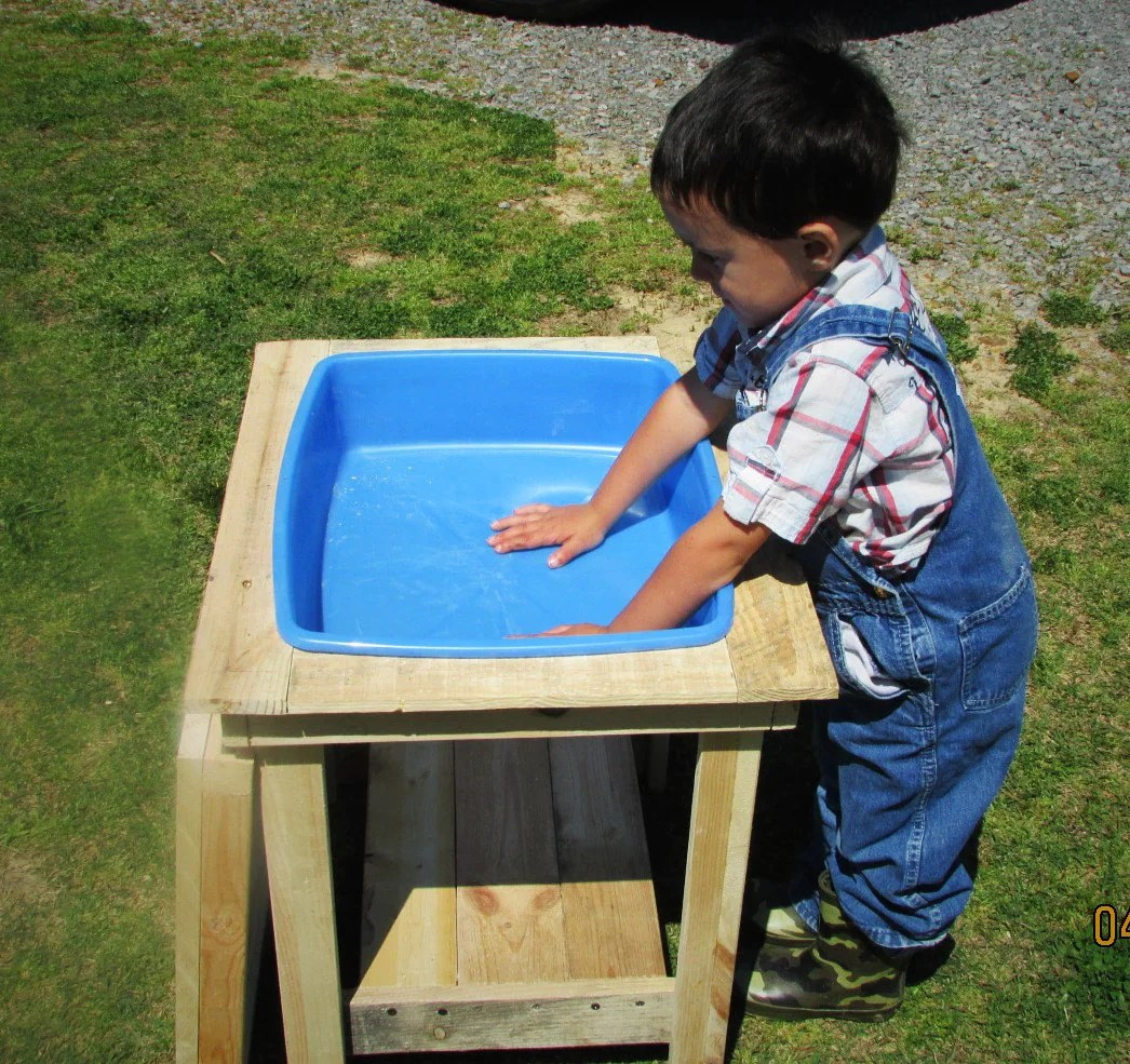 Kids Outdoor Table And Chairs Water Table Sand Table Kids Table Outdoor Furniture Art