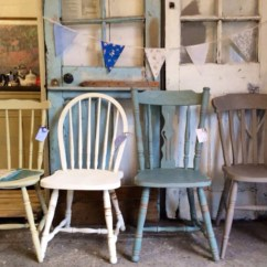 Mismatched Dining Chairs Used Aeron Chair Size C British Bake Off Vintage  Haute