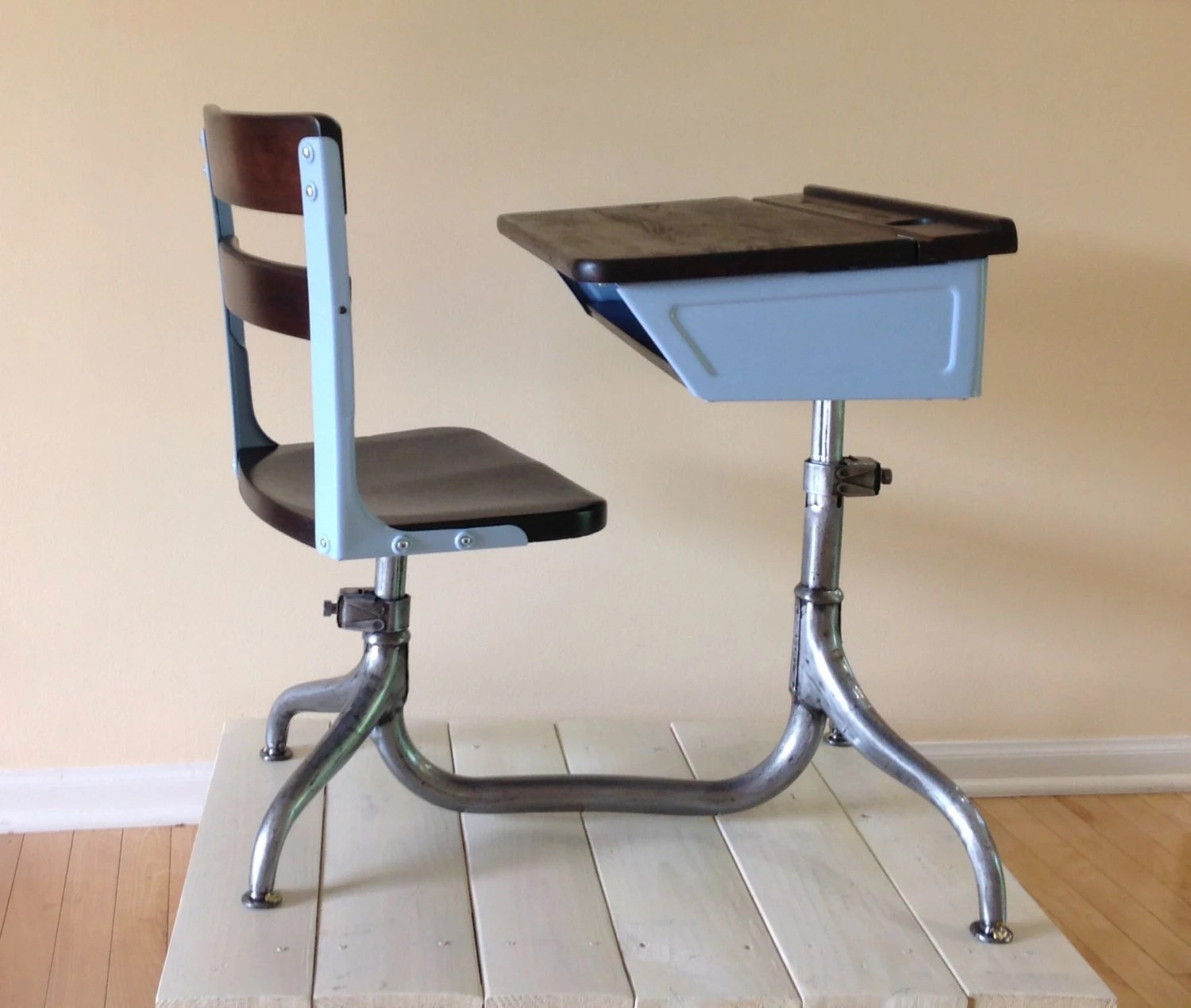 vintage school desk chair combo how to make a cover for recliner  childs haute juice