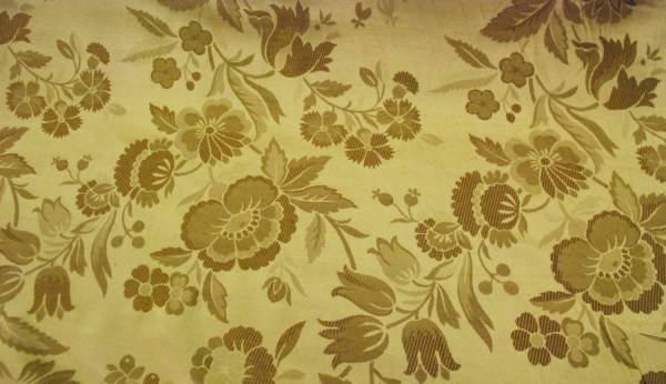 Gold Floral Upholstery And Home Decor Fabric Shopmyfabrics