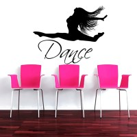 Wall Decal Quote Dance Quotes Vinyl Sticker by ...