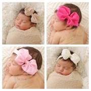baby bows bow clip hair girls