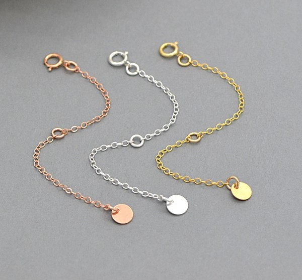 Extension Chain Extender 14k Gold Filled Sterling