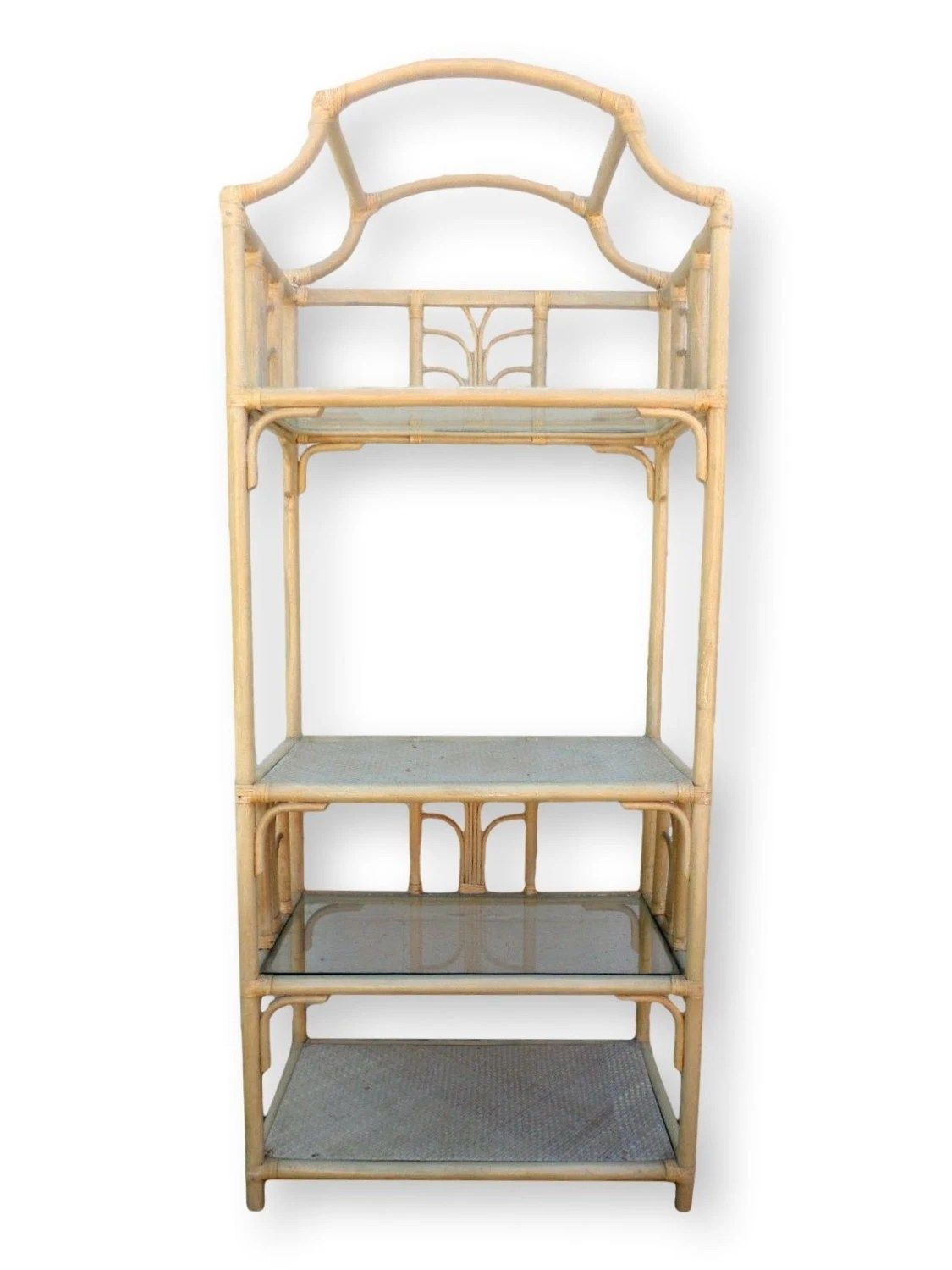 wicker etagere 28 images vintage wicker arched etagere chairish wakefield rattan company. Black Bedroom Furniture Sets. Home Design Ideas