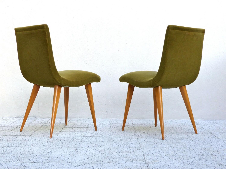 Chaises vintage design fran ais 1960 haute juice - Chaise haute design ...