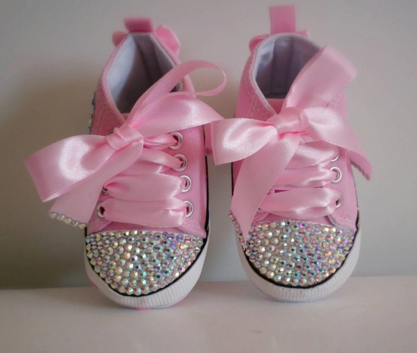 e8c980be21751 Fancy Baby Shoes Bling Converse Princess - Year of Clean Water