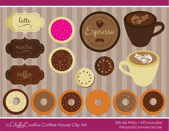 coffee house clip art mocha latte