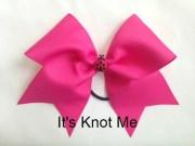 basic 3 cheer hair bow