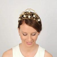 Renaissance Wedding Hair Piece Unique Tiara Bridal by ...