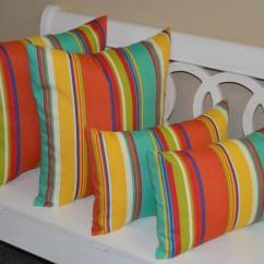 Bright Colored Sofa Pillows Twill Slipcover Indigo Denim Set Of 4 20 Square And Rectangle Lumbar Coral Yellow