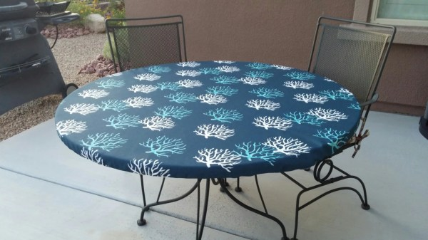 Outdoor Round Patio Table Tablecloth
