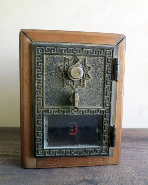 Post Office Box Door Coin Bank