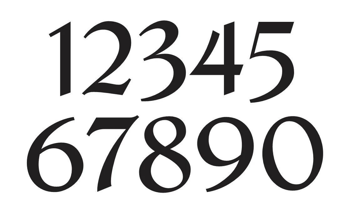 house art house numbers