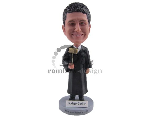 Custom Bobblehead Supreme Court Judge Judge Custom